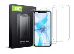 3x Schutzglas für Apple iPhone 11 / iPhone XR GC Clarity Panzerglas Schutzfolien Displayschutz 9H Härte