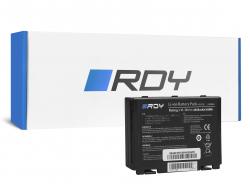 RDY Baterie A32-F82 A32-F52 pro Asus K40 K40iJ K50 K50AB K50C K50I K50ID K50IJ K50iN K50iP K51 K51AC K70 K70IJ K70IO