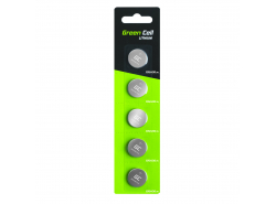 Green Cell 5x CR2430 Lithiumbatterie Batterie 3V 290mAh