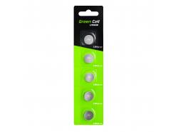 Blister 5x Green Cell Batterie LR44 1,5V Lithiumknopf