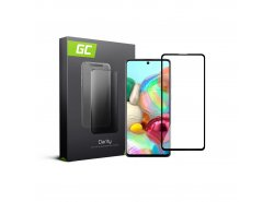 Schutzglas für Samsung Galaxy A71 GC Clarity Panzerglas Schutzfolien Displayschutz 9H Härte