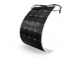 Flexibles Solarpanel Solarmodul Green Cell GC Solar Panel 100W / Monokristallin / 12V 18V / ETFE / MC4
