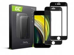 2x Verre trempé GC Clarity pour le téléphone Apple iPhone 7 / iPhone 8