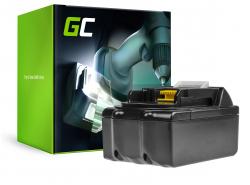 Batterie Green Cell (3Ah 18V) BL1815 BL1830 BL1830B BL1840 BL1840B BL1850 BL1850B für Makita DTD152 DC18RC DDF451 DC18SD LXPH01