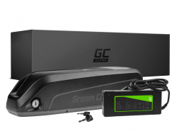 Green Cell Ultra® E-Bike Akku 36V 17Ah Li-Ion Down Tube Batterie mit Ladegerät