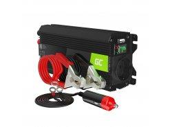 Green Cell Pro Wechselrichter Spannungswandler 12V auf 230V 500W/1000W