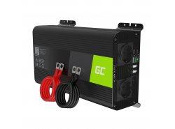 Green Cell Pro Wechselrichter Spannungswandler 12V auf 230V 1000W/2000W Reiner sinus