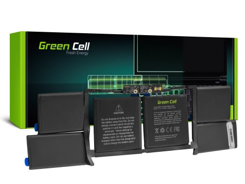 Green Cell Laptop Akku A1953 für Apple Macbook Pro 15 A1990 (2018 i 2019)