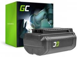Batterie Green Cell (3Ah 36V) 5133002166 BPL3626D2 BPL3650 BPL3650D OP4026 RY36B60A für Ryobi RY40200 RY40403 RY40204 RY40210