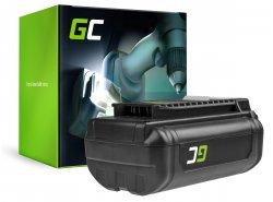 Batterie Green Cell (6Ah 36V) 5133002166 BPL3626D2 BPL3650 BPL3650D OP4026 RY36B60A für Ryobi RY40200 RY40403 RY40204 RY40210