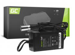 Green Cell ® Ladegerät für Elektrofahrräder, Stecker: Cannon, 42V, 2A