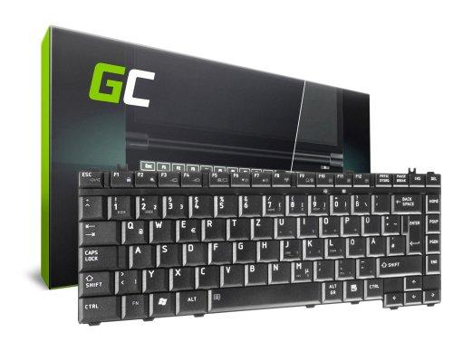 Green Cell ® Tastatur für Laptop Toshiba Satellite A300 A350 L300 L305 L315 L450 M300 M310 M500 QWERTZ DE