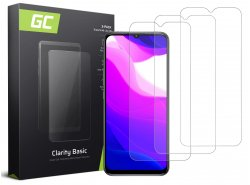 3x Schutzglas für Xiaomi Mi Lite 10 GC Clarity Panzerglas Schutzfolien Displayschutz 9H Härte