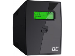 Green Cell ® UPS Micropower 600VA mit LCD Bildschirm