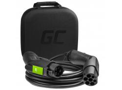 Ladekabel Green Cell GC Type 1 3.6kW 16A 7m zum Laden von EV / PHEV