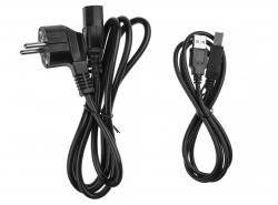 Green Cell® UPS/USV 1000VA 600W Unterbrechungsfreie Stromversorgung mit Überspannungsschutz 230V