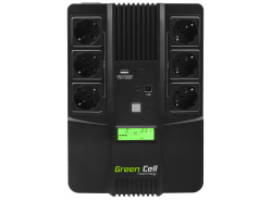 Green Cell ® UPS AiO 600VA LCD