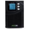 Unterbrechungsfreie Stromversorgung Rack Tower Serverschrank UPS USV 1000 VA (900W) mit Spannungsregelung AVR (3 IEC Ausgänge)