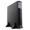 Unterbrechungsfreie Stromversorgung Rack Tower Serverschrank UPS USV 2000 VA (1800W) mit Spannungsregelung AVR (6 IEC Ausgänge)