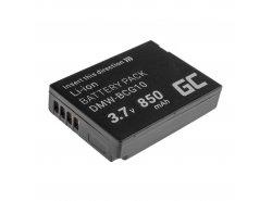 Green Cell ® DMW-BCG10E Kamera-Akku für Panasonic Lumix DMC 3D1 TZ6 TZ7 TZ8 TZ10 TZ20 TZ30 TZ31 TZ35 ZR1 (Li-Ion 3.7V 850mAh)