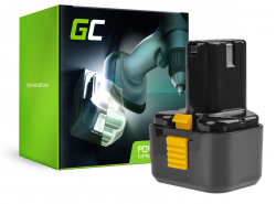 Green Cell® Batterie Akku (2Ah 9.6V) EB9B EB930H FEB9 für Hitachi CK 12D D 10DF DS 9DVF UB 12D WH 9DM WR 9 DMR
