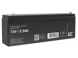 Green Cell® AGM 12V 2.3Ah Akku VRLA Blei-Batterie Spielzeug Elektro Spielzeug Alarm Kinderfahrzeuge