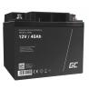 Green Cell® AGM 12V 40Ah Akku VRLA Blei-Batterie Unbemann Caravan Photovoltaik Rollstuhl Solarbatterie