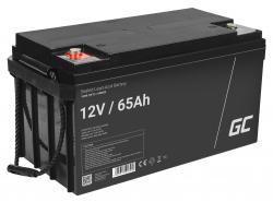Green Cell ® Batterie AGM VRLA 12V 65Ah