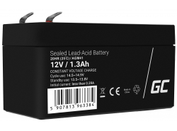 AGM GEL Batterie 12V 1.3Ah Blei Akku Green Cell Wartungsfreie für Elektroauto und einen Roller