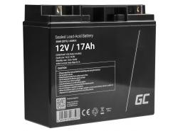 Green Cell® AGM 12V 17Ah Akku VRLA Blei-Batterie Unbemann Fischkutter Boot Scooter Rasentraktor Rasenmäher