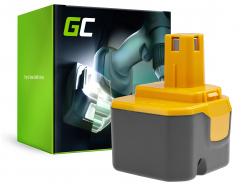 Green Cell® Batterie Akku (1.5Ah 12V) B1222H B1230H BPT1025 für Ryobi BD120 BD121 BD122 BID1211 BID1260 SA1202
