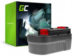 Green Cell ® Werkzeug Akku für Black&Decker A18 A1718 HPB18 18V 3Ah