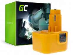 Green Cell Cell® Akkuwerkzeug pro DeWalt DE9037 DE9071 DE9074 12V 2Ah