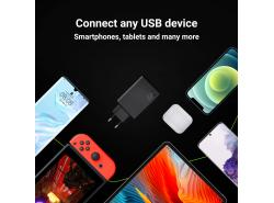 Netzladegerät USB x 3, DC 5V 2.4A x2, DC 12V 1.5A x1