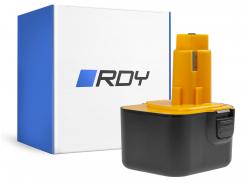 RDY Akku (3Ah 12V) A9252 DE9037 DE9071 DE9074 für DeWalt / Black&Decker BSA12K CD1200 DW907 CD12C DC740KA DC742K