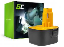 Akumulátorový nástroj Green Cell Cell® pro DeWalt DE9037 PS130 a Black&Decker 12V 3000mAh
