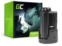 Green Cell ® Akku für Elektro Bosch PMF PSM PSR 10,8 LI-2 10.8V 1.5Ah
