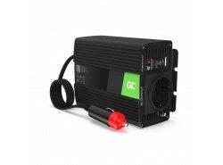 Green Cell® Wechselrichter Spannungswandler 12V auf 230V 150W/300W Reiner sinus