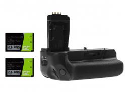 Grip Green Cell BG-E18 + 2x Akku LP-E17 1000mAh 7.4V für Canon EOS 750D T6i 760D T6s