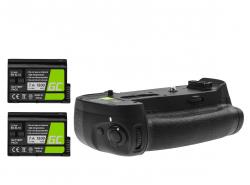 Grip Green Cell MB-D18 + 2x Baterie EN-EL15 1900mAh 7.4V pro fotoaparát Nikon D850