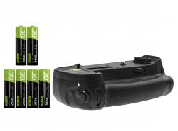 Akkugriff Green Cell MB-D18 + 6x AA Akku 2600mAh 1.2V für die Nikon D850 Kamera