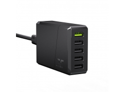 Green Cell GC ChargeSource 5 5xUSB 52W Ladegerät mit Schnellladung Ultra Charge und Smart Charge