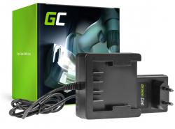 Green Cell ® Werkzeug Akku-Ladegerät 29862 29702 25.2V für GreenWorks 21.6-24V Li-Ion 29842 29852 G24 G24B2 G24CD GD24IW