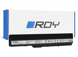 RDY Baterie A32-K52 pro Asus A52 A52F A52N K42 K52 K52D K52F K52J K52JB K52JC K52JE K52JR K52N X52 X52F X52J X52N