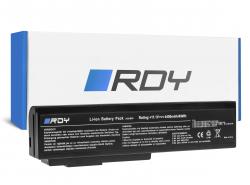 RDY Laptop Akku A32-M50 A32-N61 für Asus G50 G51J G60 G60JX M50 M50V N53 N53J N53S N53SV N61 N61J N61JV N61V N61VG N61VN