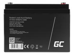 Green Cell® AGM 12V 28Ah Akku VRLA Blei-Batterie Unbemann Fischkutter Boot Scooter Rasentraktor Rasenmäher