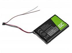Akku Green Cell CS-GME100SL, Batterie für GPS Garmin Edge 1000 Garmin 010-01161-00, Li-Ion zellen 1200mAh 3.7V