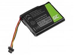 Akku Green Cell CS-TMS60SL, Batterie für GPS TomTom Start 60 Via 1605, Li-Ion zellen 1200mAh 3.7V