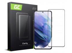 Schutzglas für Samsung Galaxy S21 GC Clarity Panzerglas Schutzfolien Displayschutz 9H Härte
