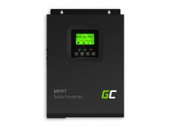 Solar Wechselrichter Off Grid Inverter Mit MPPT Green Cell Solar Ladegerät 12VDC 230VAC 1000VA / 1000W Reine Sinuswelle